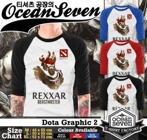 Jual Kaos Ocean Seven Desain Dota