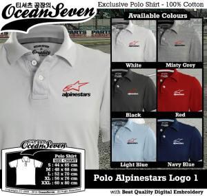 Polo Alpinestars Logo 1